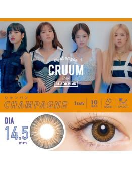 T-Garden/CRUUM/日拋10片裝/香檳銅Champagne