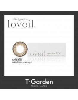 T-Garden/Loveil/日拋10片裝/幻境派對Brown merge