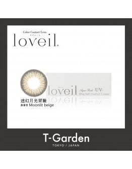 T-Garden/Loveil/日拋10片裝/迷幻月光冒險 Moonlit beige