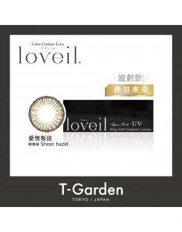 T-Garden/Loveil/日拋10片裝/愛情叛徒 Sheer hazel