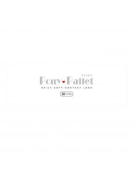 Pony Pallet/魔彩盤/日拋30片裝/透明